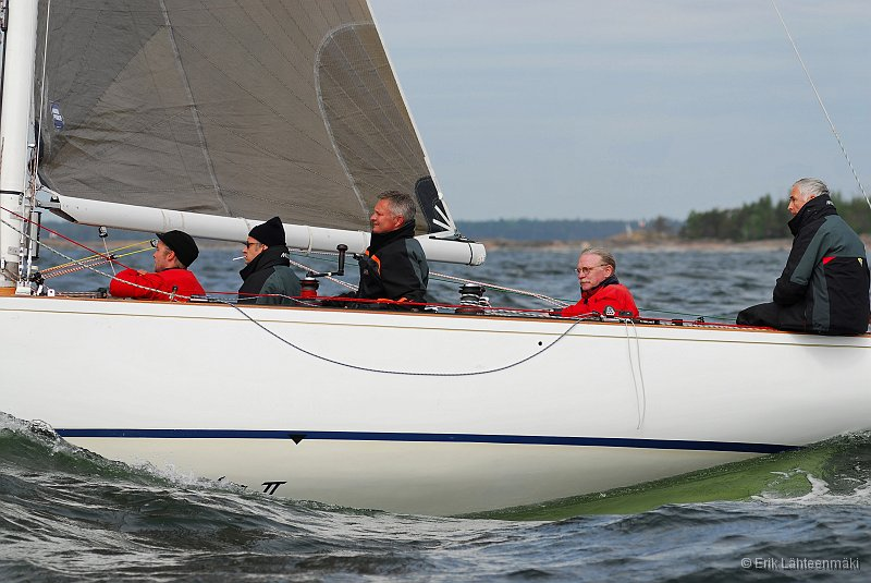 6mR and 5.5m yachts in tough weather at Pentala in the first ranking race of the season.