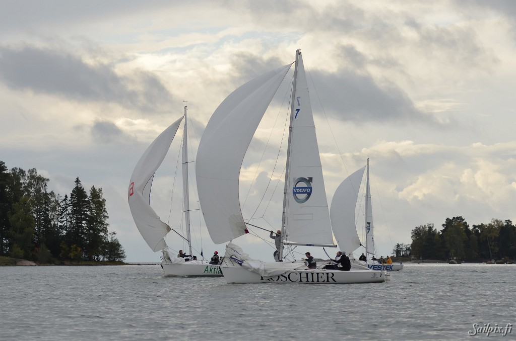 """Champion of Championsat NJK is an annual weekend race where the Finnish champions in different classes meet at the end of the season. This year the real big Champions are from the """"Finn"""" class. The results can be found on theVenenettiwebpage. Open Slideshow"""