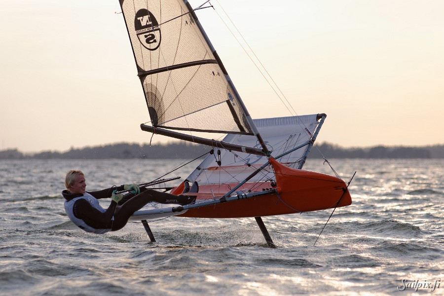 Some nice photos of Moth sailors training outside of Lauttasaari (Ferry Island, Helsinki) in a September evening. Open Slideshow