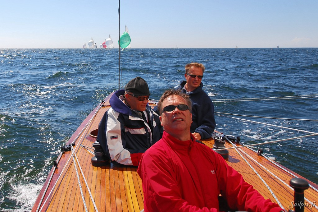 Helsinki Regatta in light wind.