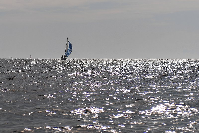 Henri Lloyd Race is an annual offshore race outside of Helsinki. This year the weather and wind was varying during the day.