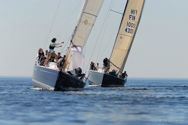 200 pictures from sailing in light wind and sunny weather.