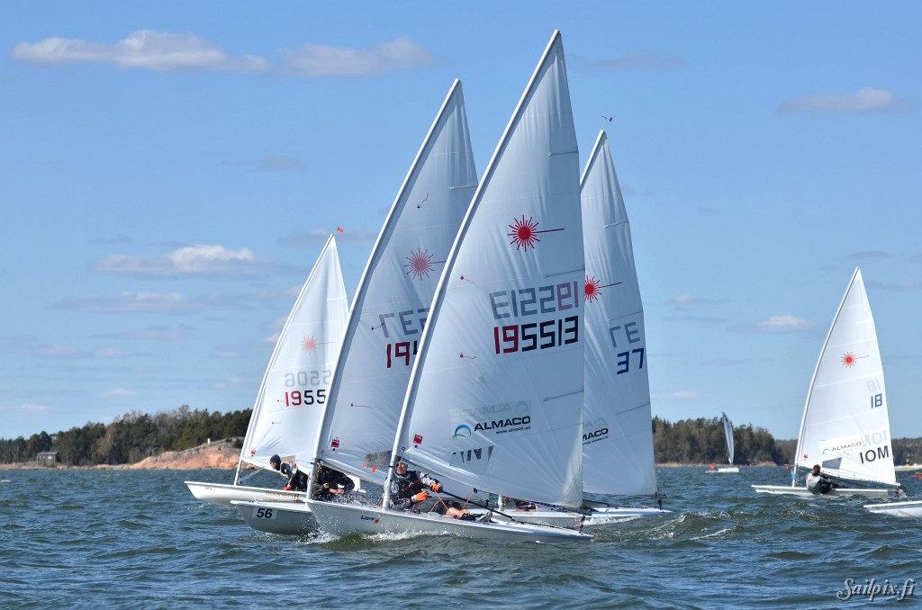 Harken Cupwith Zoom8, Finn and Laser dinghy classes at NJK. Sunny and good wind on Sunday. Open Slideshow