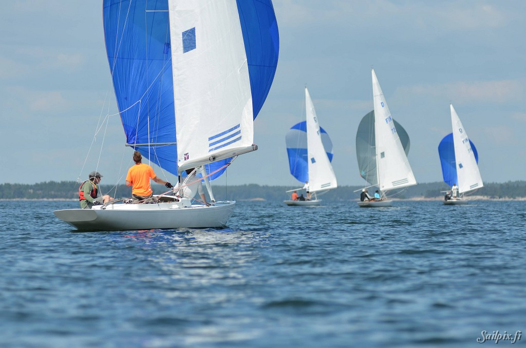 Dragon Class Championshipat HUS in Hanko. Some pictures from Wednesday. Open Slideshow