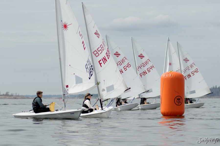 Helly-Hansen Cup pictures from Sunday. Zoom 8, Europe class, Laser Standard, Laser radial and 29er sailors met challenging conditions in light wind at the weekend regatta organized by NJK. Open Slideshow