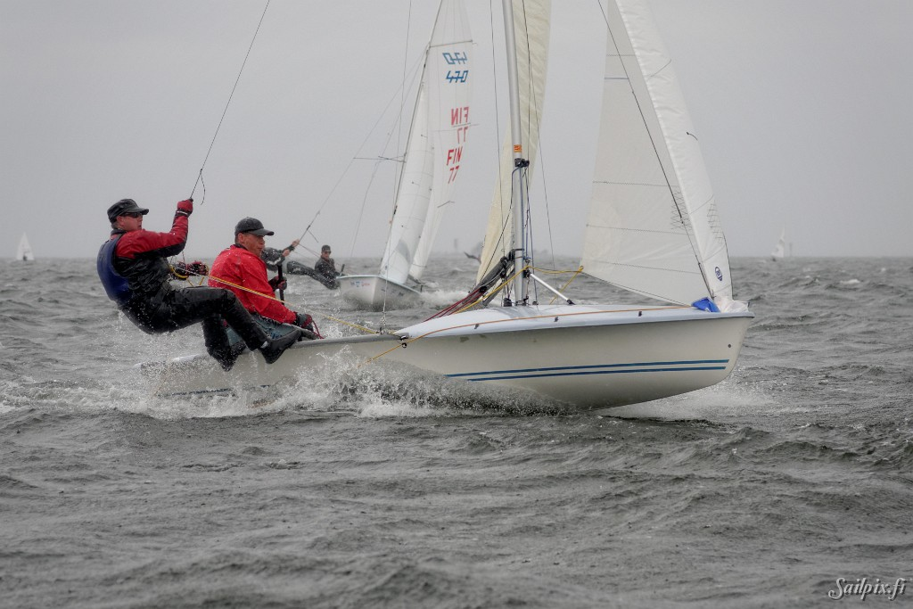 Helsinki Regatta was sailed on Saturday in light wind and sunny weather. On Sunday a rain front with hard wind had reached Helsinki from South-West and caused some issues to the organizers. Of six planned races on three different courses only two races were sailed. The 80 photos are from the dinghy course with 505, […]