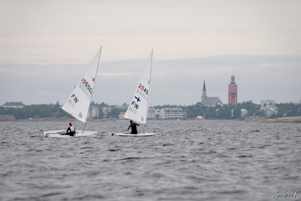 Audi Dinghy Regatta organized by Hangö Segelförening in the most southern city of Finland. For the Laser 4,7 class the planned National Championship status was cancelled because of too few registered sailors. So for all classes including also Laser standard, Laser radial, Europe, and Zoom it was a normal ranking regatta. Totally 58 dinghy sailors […]
