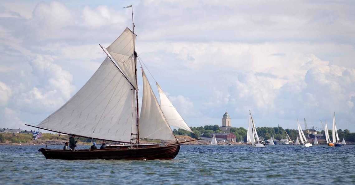 The 30th Viaporin Tuoppi with many sail yachts outside of Helsinki in the biggest wooden yacht event in Nordic. The light wind and sunny weather guaranteed that people enjoyed both racing on the sea and after sail on land. Some extra after sail photos have been published in the Sailpix Facebook group For quicker searching […]