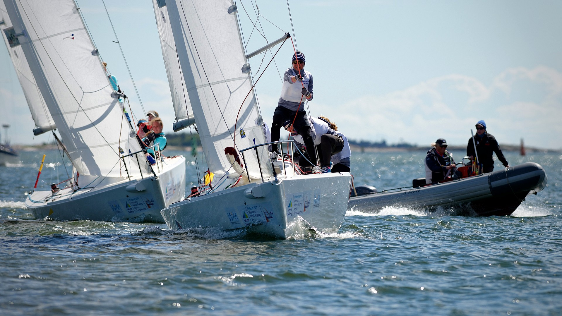 NJK hosting the Women's Match Racing World Championship in Helsinki. The results and more media are available at the event Facebook page. Read also the World Sailing press release. Photos from the finals (bronze) Palludan – Östling and (gold) McGregor – Groenevold  Photos from semifinals 21.6.2017: Palludan against Groeneveld and Östling against MacGregor  […]