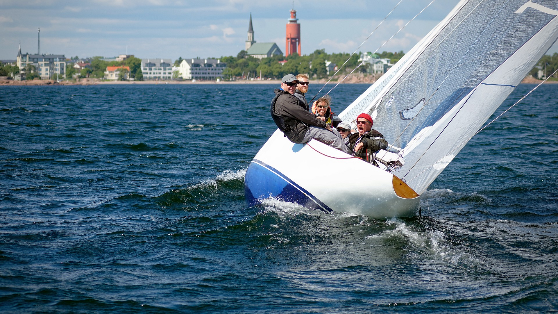 One of the main race sailing regattas in Finland with over 200 boats competing in 19 classes. This years photos are from Friday and Saturday. On Sunday I was called in with short notice, to sail in Lys2 class, so unfortunately I have no photos from the 49er, F18 or Moth. Also no photos from […]