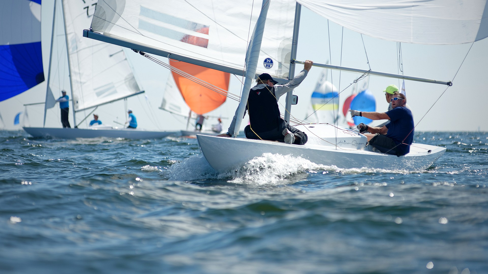 The Dragon Gold Cup 2018in Helsinki from the 20th to 28th of July 2018is supported with Sailpix photos on this page. Sixth and final day at the Dragon Gold Cup. Two races (4 and 5) were sailed. Last race in best sailing conditions with sun and strong wind. See final results HERE.  Photos (110) […]
