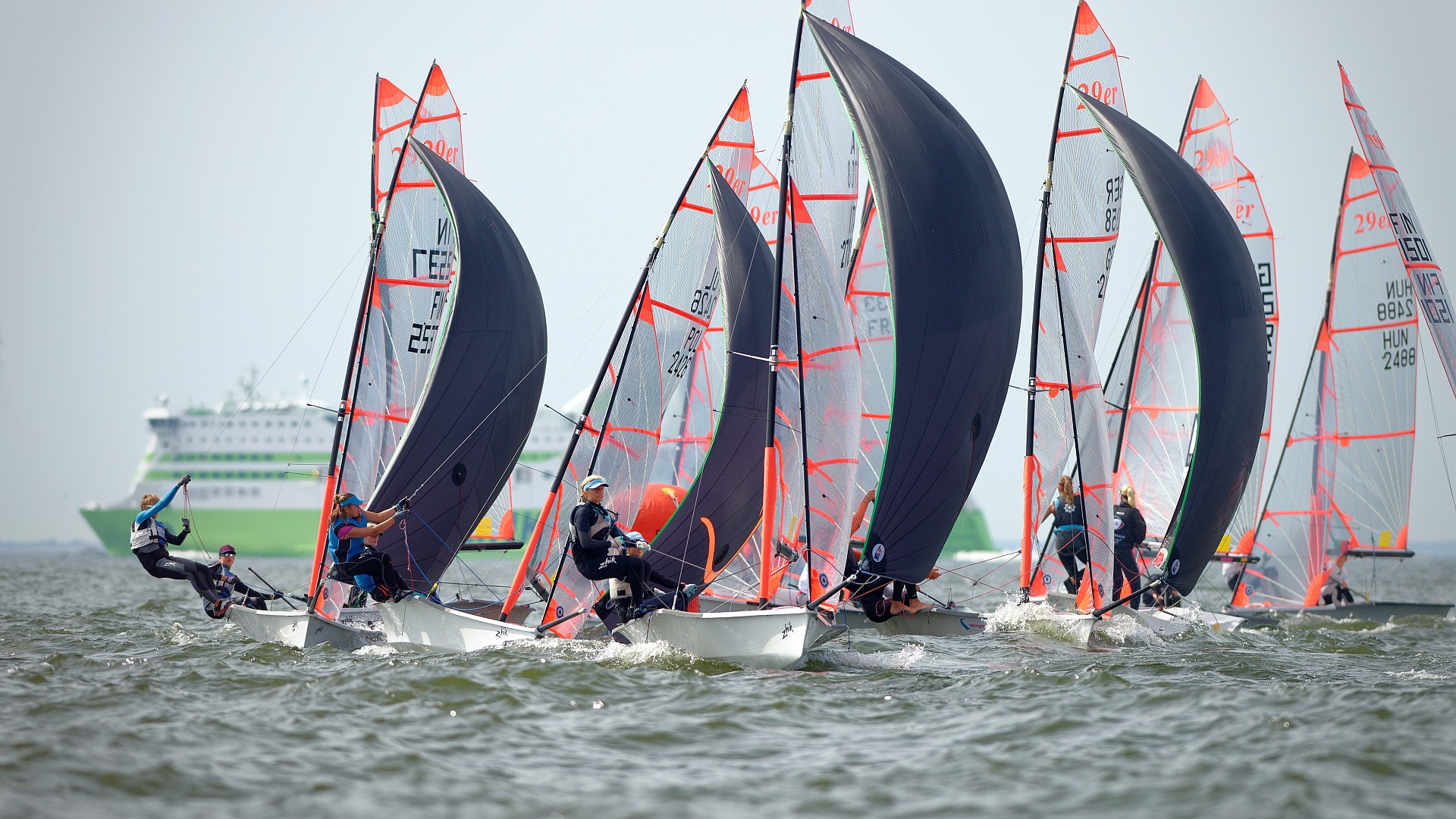 The Finnish Sail Racing Organisation together with the International 29er Class Association is organizing the 2018 29er European Championship regatta in Helsinki, Finland from 4th to 12th of August, 2018. Here 66 photos from Saturday.   Here 70 photos from Thursday.   Link to the RESULTS PAGE of the event. If you were sailing at […]