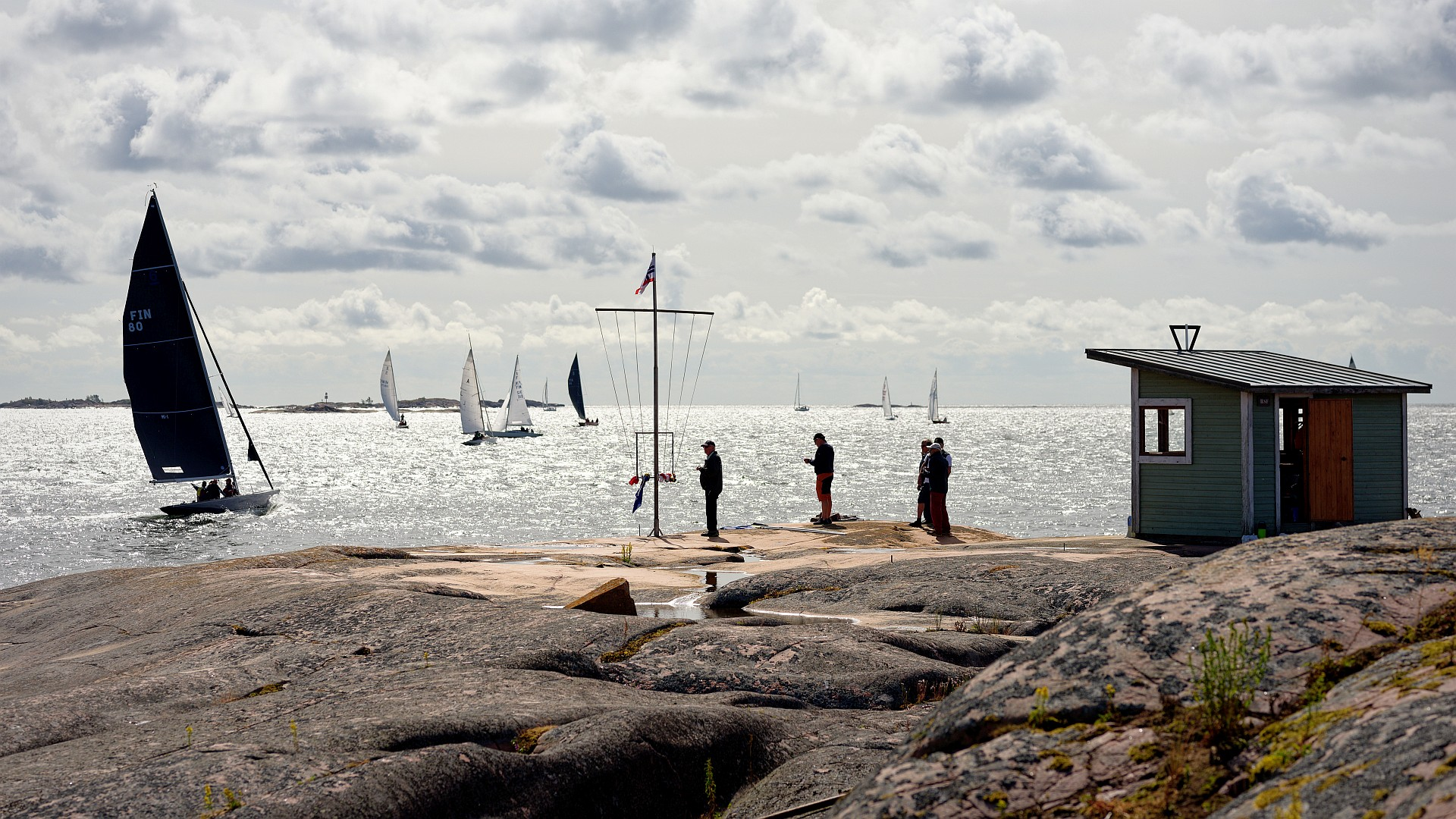 Hangö Classics is a regatta, organized by Hangö Segelförening HSF, that is in 2020 replacing the Hangö Regatta which would have been too big with regards to the Corona restrictions. The 8mR, 6mR, Int5mR, 5.5M, Dragon, A-boat, Hai and Nordic Folkboat are racing on a course from year 1932 with just some modifications. Photos are […]